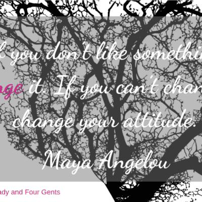 Weekend Words on Change
