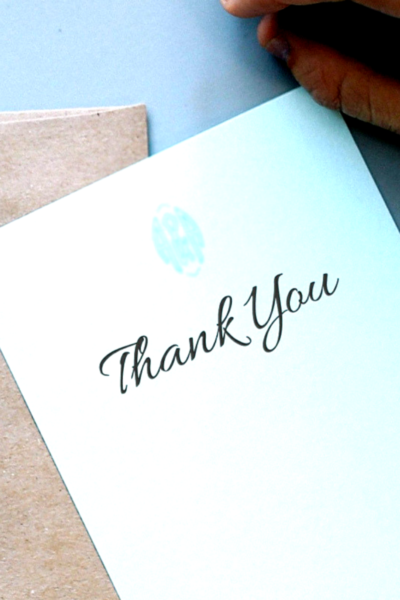 Thank You Note picture