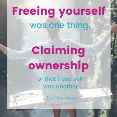 Weekend Words on Ownership